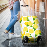 Lemon Flower Pattern Luggage Covers