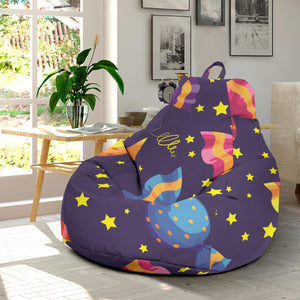 Candy Star Pattern Bean Bag Chair