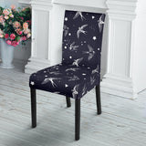 Swallow Pattern Print Design 02 Dining Chair Slipcover