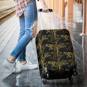 Bengal Tiger and Tree Pattern Luggage Covers