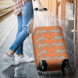 Rhino Pattern Theme Luggage Covers