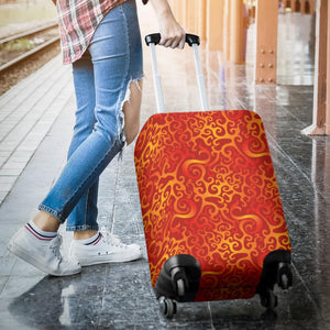 Flame Fire Pattern Luggage Covers