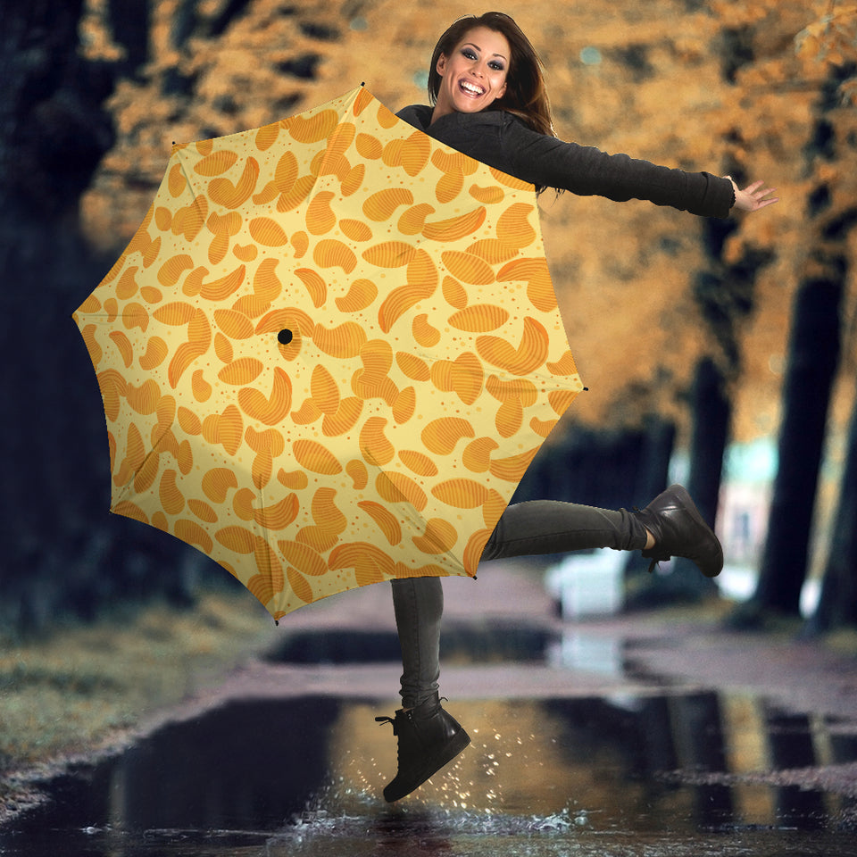 Potato Chips Pattern Print Design 04 Umbrella