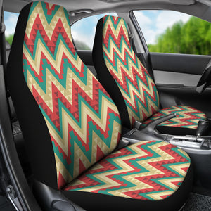 Zigzag Chevron Pattern Universal Fit Car Seat Covers