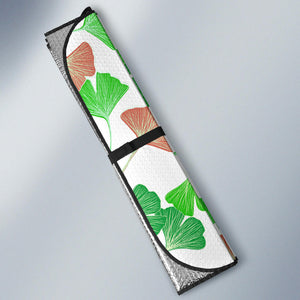 Ginkgo Pattern Car Sun Shade