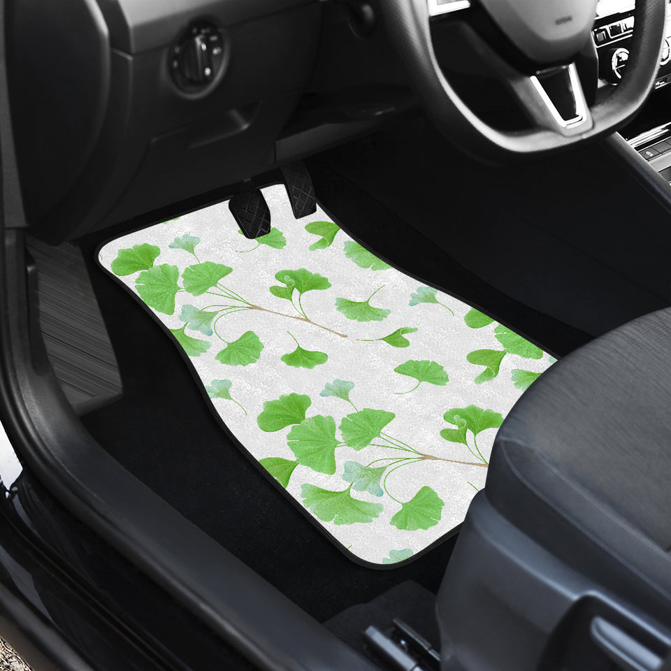 Ginkgo Leaves Pattern Front Car Mats