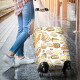 Cheese Pattern Theme Luggage Covers
