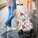 Wall Clock UK Pattern Luggage Covers