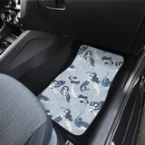 Mermaid Dolphin Pattern Front Car Mats