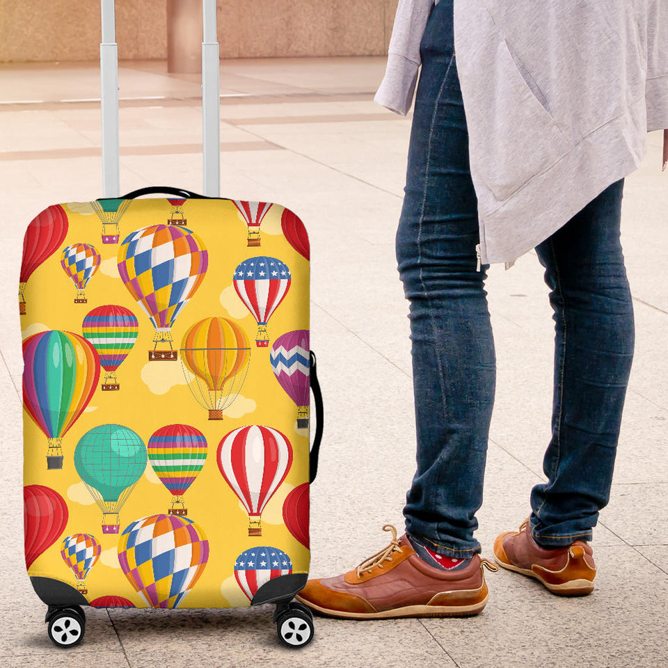 Hot Air Balloon Pattern Luggage Covers