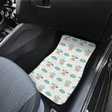 Bonsai Fan Pattern Front Car Mats