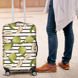 Guava Pattern Stripe background Luggage Covers