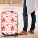 Octopus  Crab Starfish Pattern Luggage Covers