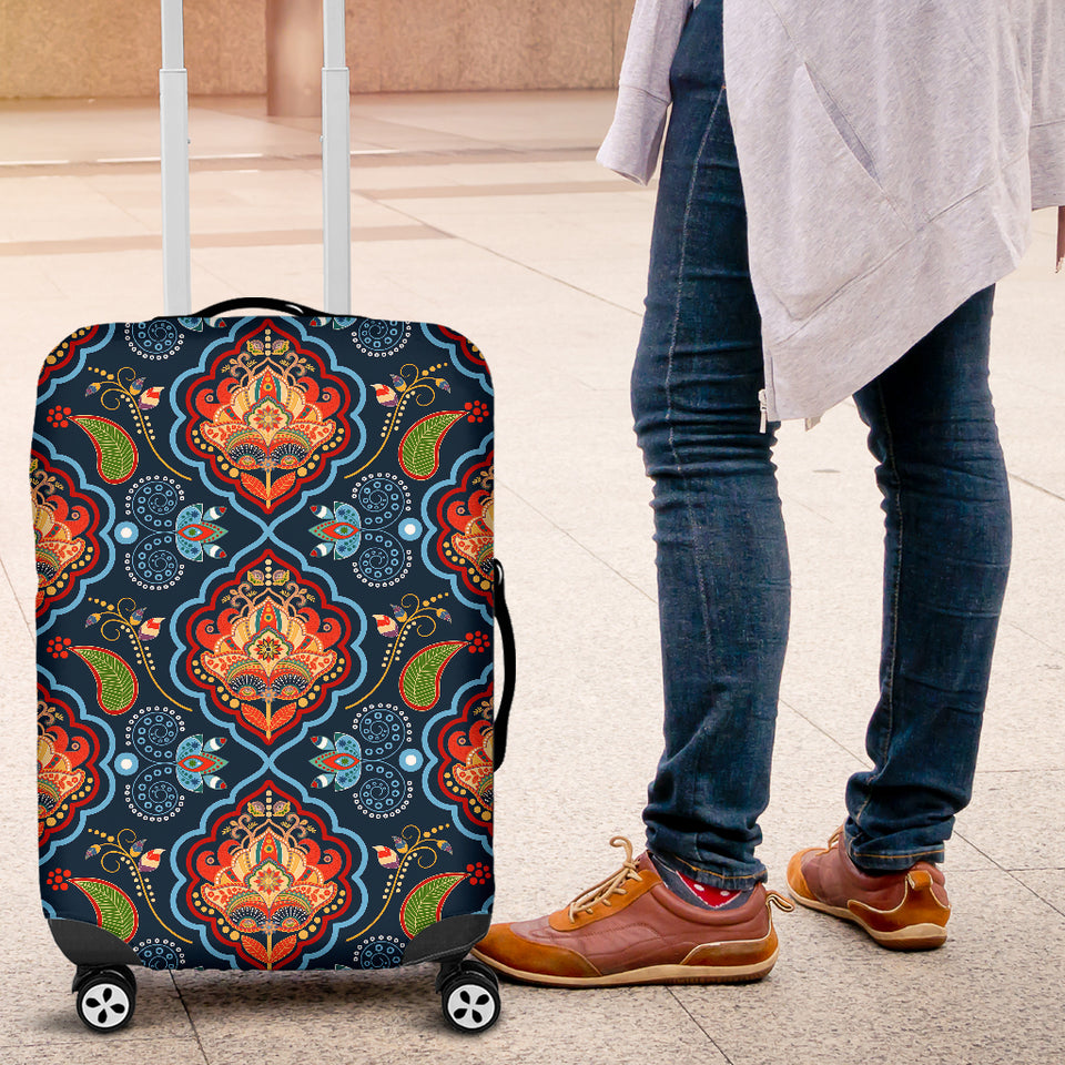 Indian Traditional Pattern Luggage Covers