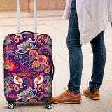 Indian Pattern Background Luggage Covers