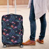 Peacock Feather Pattern Luggage Covers