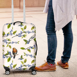 Blueberry Bird Pattern Luggage Covers