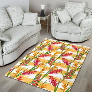 Heliconia Pattern Area Rug