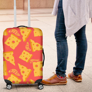 Sliced Cheese Pattern  Luggage Covers