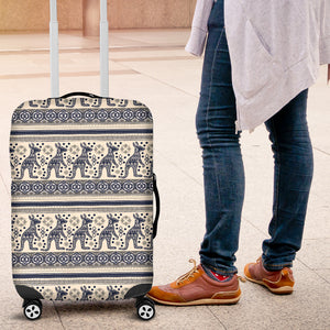 Kangaroo Aboriginal Pattern Ethnic Motifs Luggage Covers