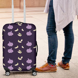 Garlic Pattern Background Theme Luggage Covers