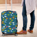 Color Helicopter Pattern Luggage Covers