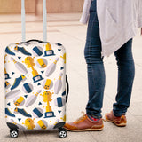 Bowling Ball and Shoes Pattern Luggage Covers