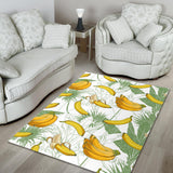 Banana Pattern Background Area Rug
