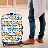 Starfish Pattern Luggage Covers