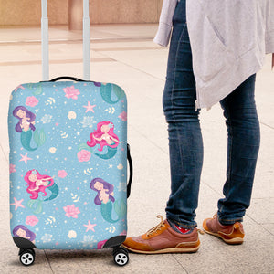Cute Mermaid Pattern Luggage Covers