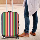 Rainbow Stripe Pattern Luggage Covers