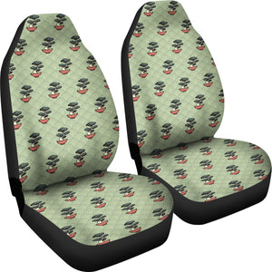 Bonsai Japanes Pattern Universal Fit Car Seat Covers
