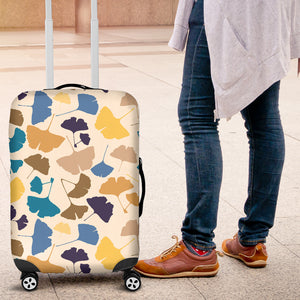 Colorful Ginkgo Leaves Pattern Luggage Covers