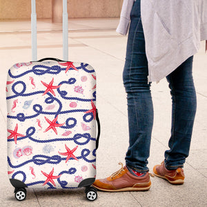 Starfish Shell Rope Pattern Luggage Covers