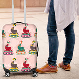 Colorful Sea Lion Pattern Luggage Covers
