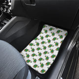 Green Amy Helicopter Pattern Front Car Mats