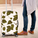 Hop Leaves Pattern Luggage Covers