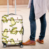 Frog drunk Pattern Luggage Covers