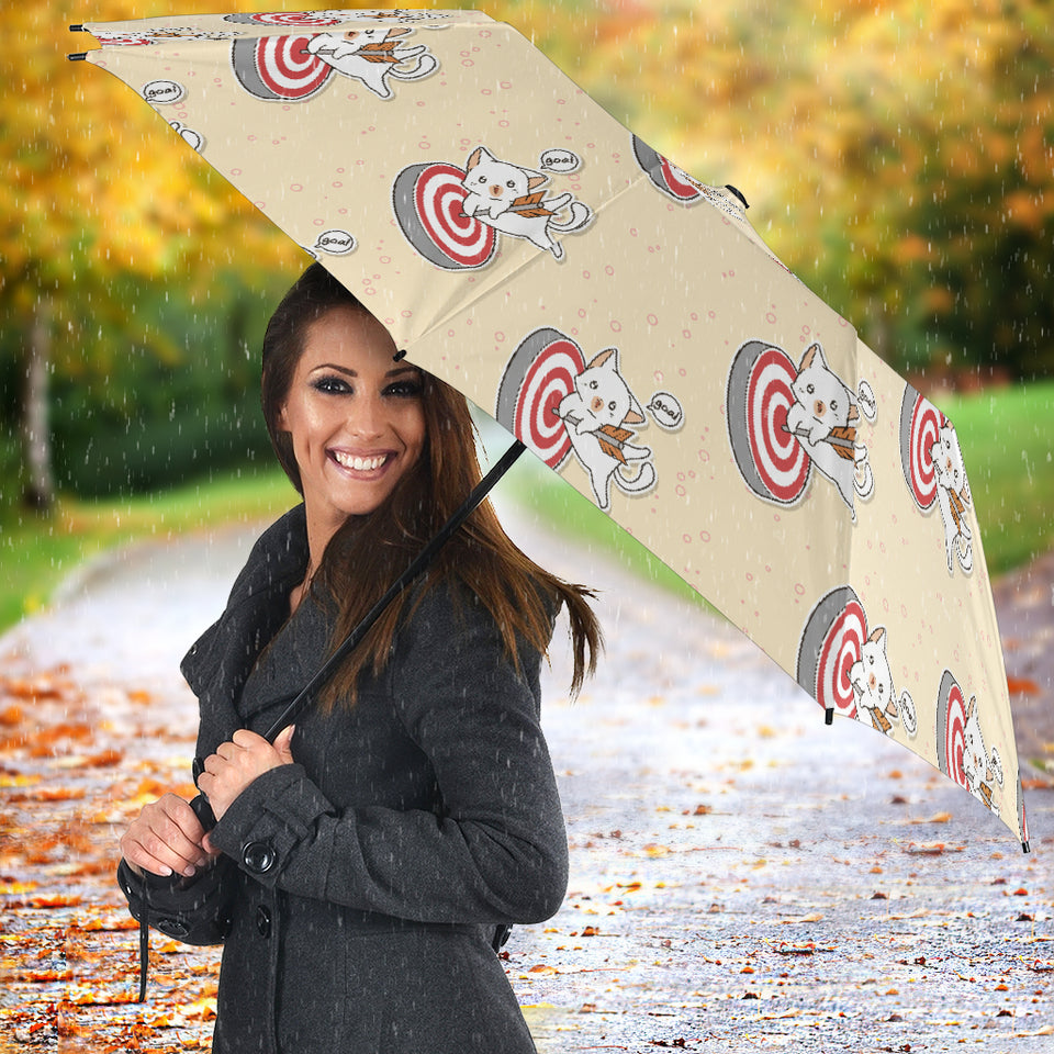 Darts Pattern Print Design 05 Umbrella