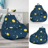 Moon Star Pattern Bean Bag Chair