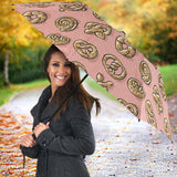 Pretzels Pattern Print Design 04 Umbrella