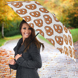 Pretzels Pattern Print Design 05 Umbrella
