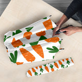 Carrot Pattern Print Design 05 Umbrella