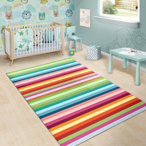 Rainbow Pattern Area Rug