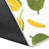 Durian Pattern Background Area Rug