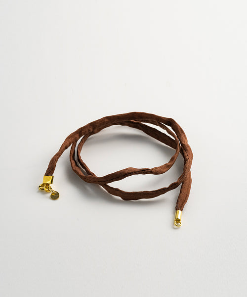 Brown Silk Cord