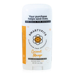 Smarty Pits Sensitive Deodorant Coconut Mango