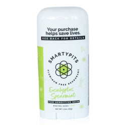 Smarty Pits Sensitive Deodorant Eucalyptus Spearmint