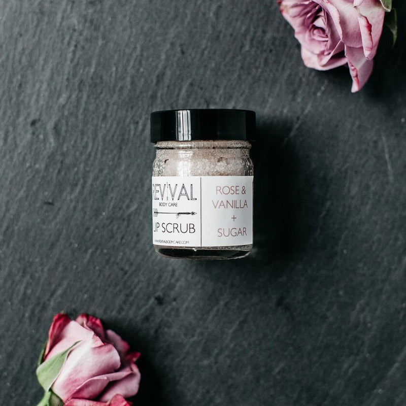 Sugar Lip Scrub | Rose & Vanilla