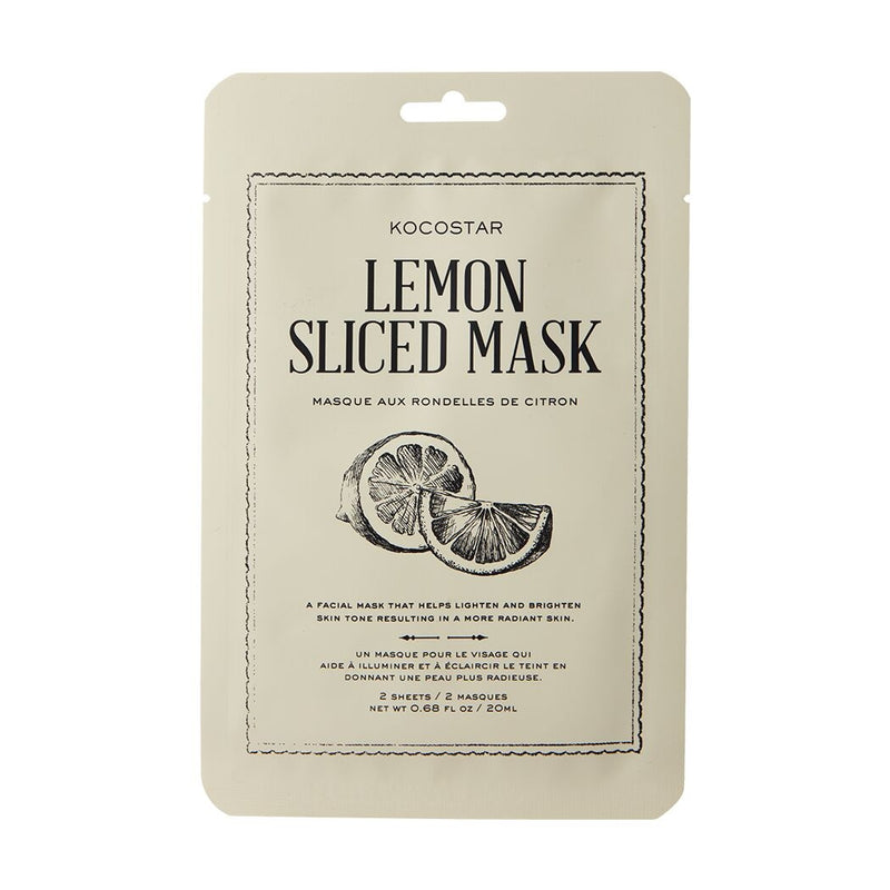Lemon Slice Therapy Mask
